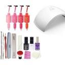 LoveCrazy 4pcs Kit De Colores 13-16 en Gel Manicura Semipermanente