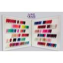 kit 20 Colores de Esmaltes personalizado y Top Coat Base Coat