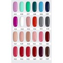 Kit 6 Colores de Esmaltes personalizado y Top Coat Base Coat