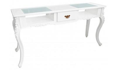Mesas, mostradores y recepciones